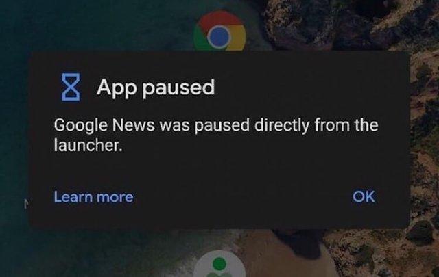 В Android Q добавят возможность останавливать приложения прямо в лончере