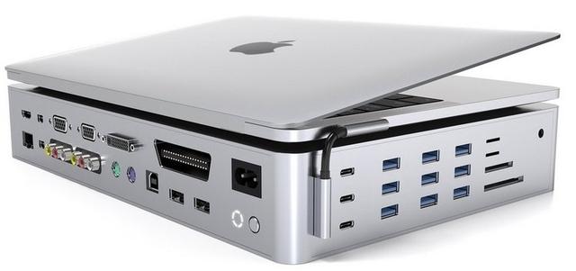 Hyper представила самый большой многопортовый адаптер для MacBook на 40 разъёмов