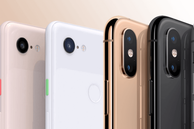 Google Pixel 3 разгромил iPhone XS в тесте камеры