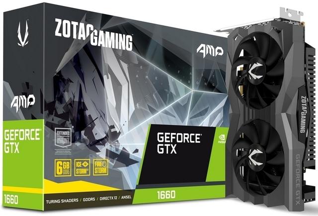 Zotac представила две собственные версии GeForce GTX 1660