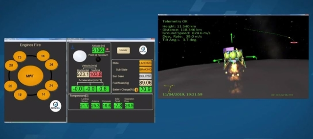 Космический аппарат Израиля потерпел крушение при посадке на поверхность Луны