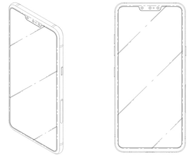 LG размышляет над смартфоном с тройной селфи-камерой